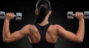 Women lift Weights Too